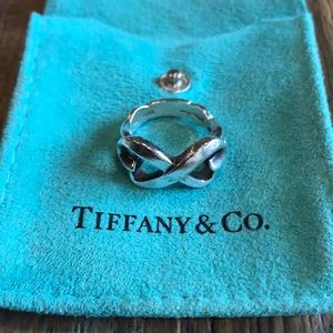 Tiffany & Co silver Paloma Picasso Double Heart